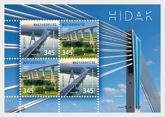 Europa 2018 - Bridges - Miniature Sheet
