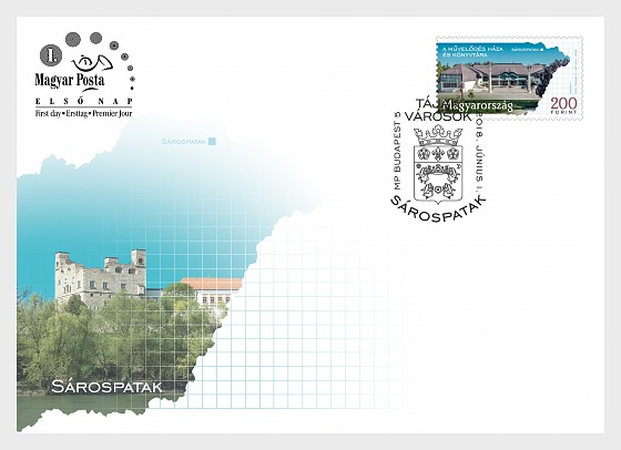 Regions and Towns 2018 - (Sárospatak FDC) - First Day Cover