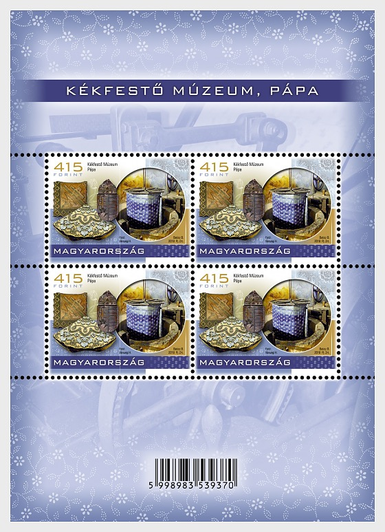 Treasures of Hungarian Museams V - (Blue-Dyeing Museum Sheetlet) - Sheetlets