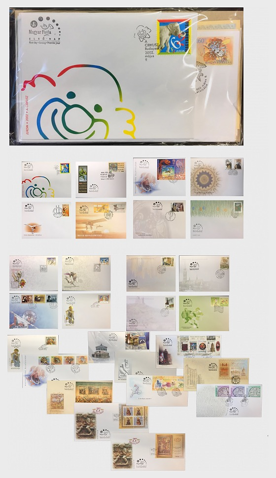 2002 FDC Pack - Annual Product