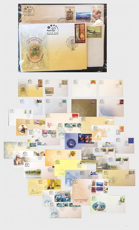 2009 FDC Pack - Prodotti annuali