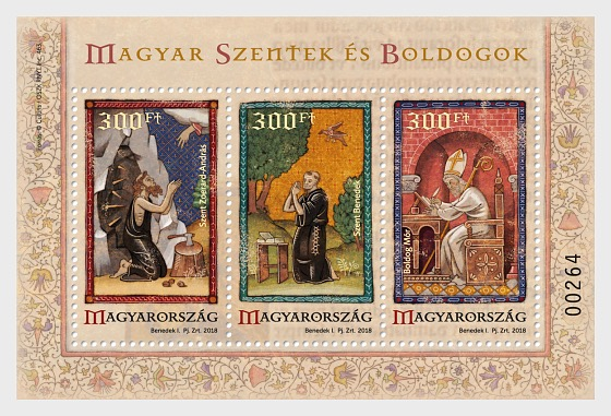 Hungarian Saints and Blesseds VI - Miniature Sheet