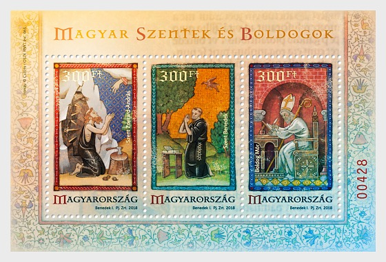 Special Edition - Hungaria Saints and Blesseds VI - Miniature Sheet