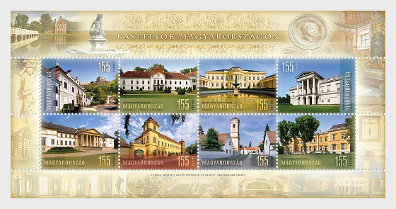 Castles in Hungary - Miniature Sheet
