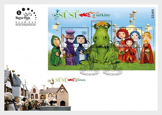 Fairy Tale Characters - SUSU The Dragon - First Day Cover