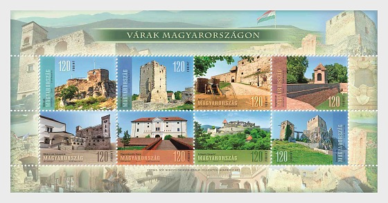 Castles in Hungary - Miniature Sheet