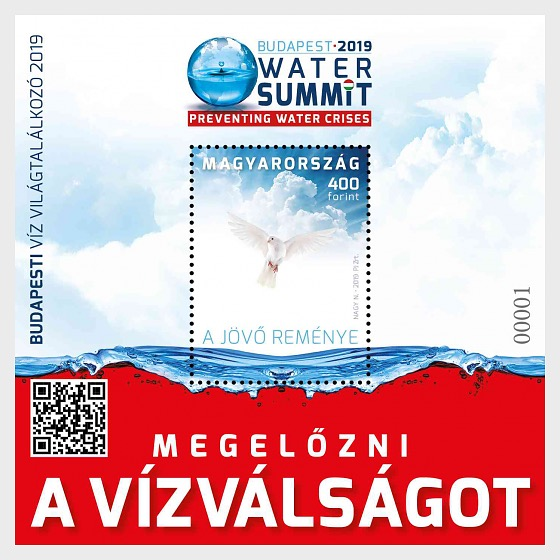 Budapest Water Summit 2019 - Miniature Sheet