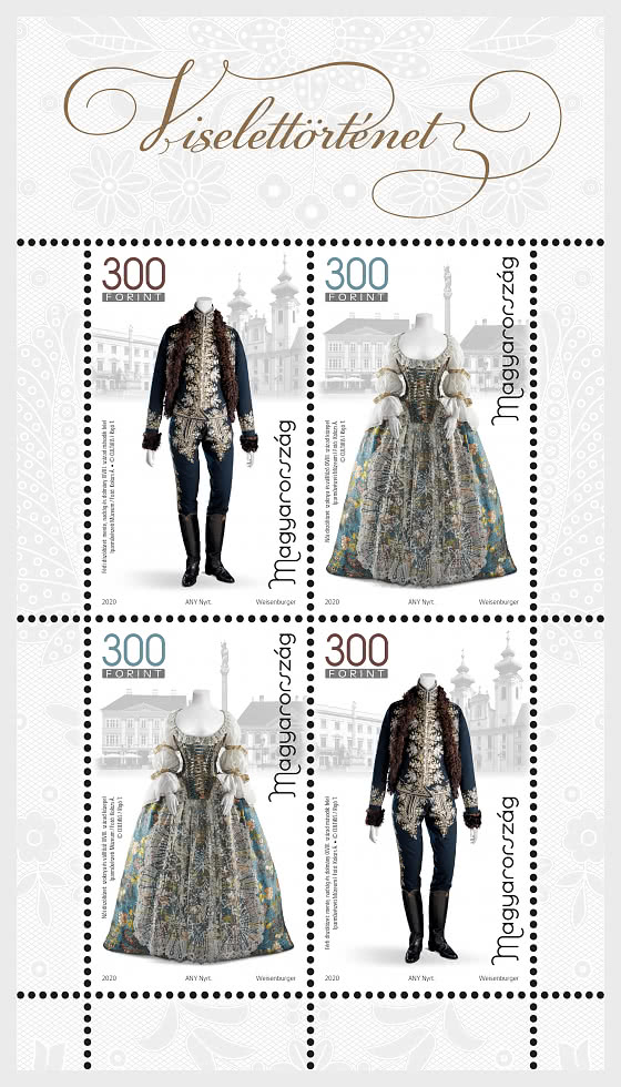 History of Clothing III - Miniature Sheet
