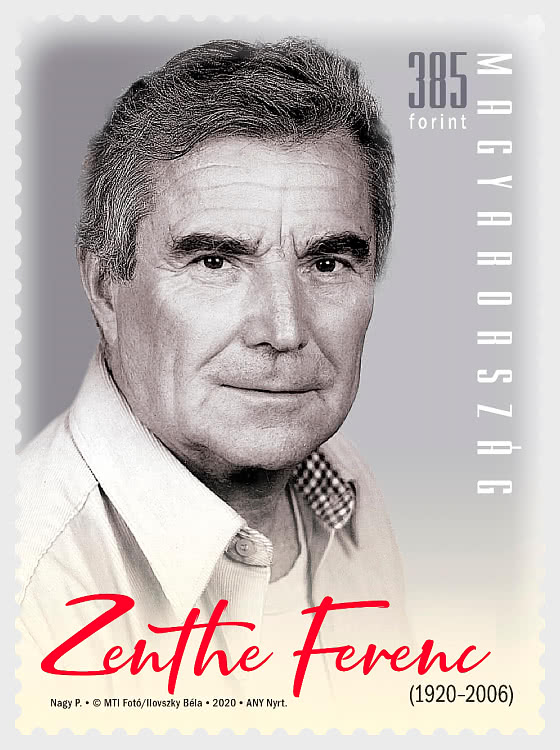 Zenthe Ferenc Born 100 Years Ago - Set