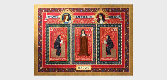 Hungarian Saints And Blesseds VIII - Miniature Sheet