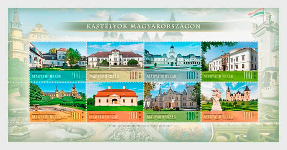 Palaces In Hungary II - Miniature Sheet