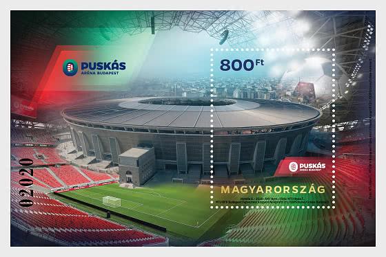 Puskás Arena Budapest - Miniature Sheet