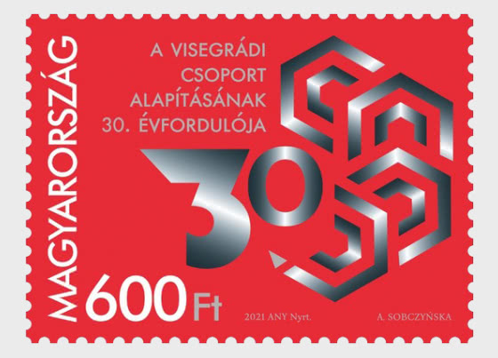 30th Anniversary Of The Formation Of The Visegrad Group - Set
