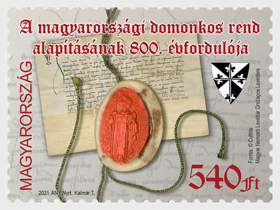 The 800th Anniversary Of The Founding Of The Dominician Order In Hungary - Set