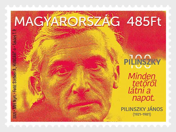 Janos Pilinszky Born 100 Years Ago - Set