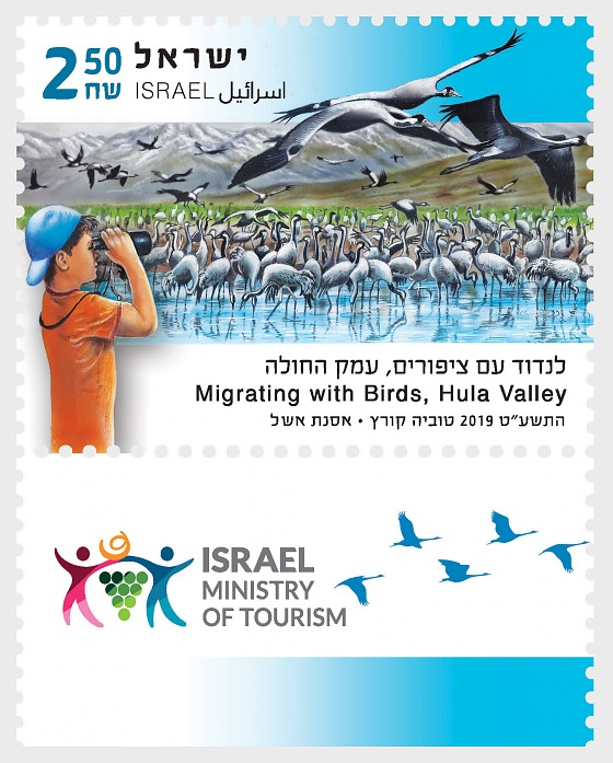 Tourism in Israel - Migrating with Birds - Set