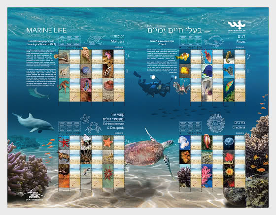 Marine Life Special Print Sheet - Collectibles