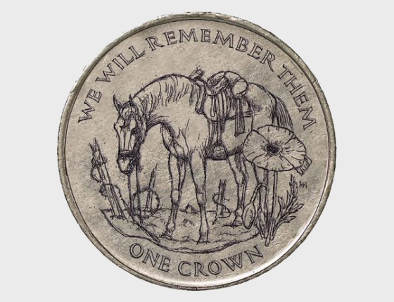 World War I Horse No Man's Land Crown - Single Coin