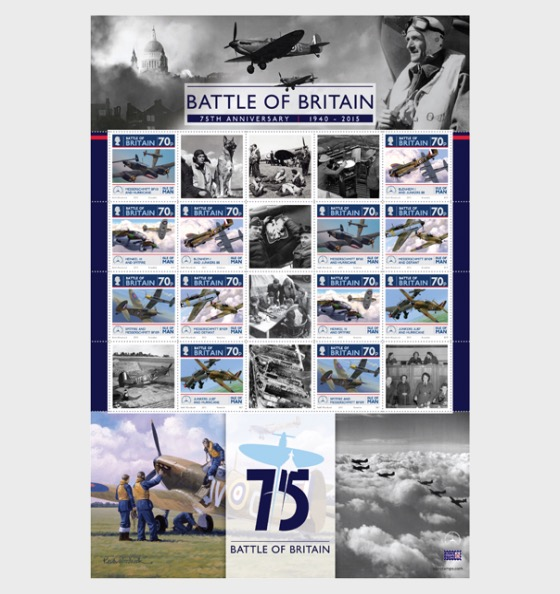 The Battle of Britain 75th Anniversary - Sheetlets