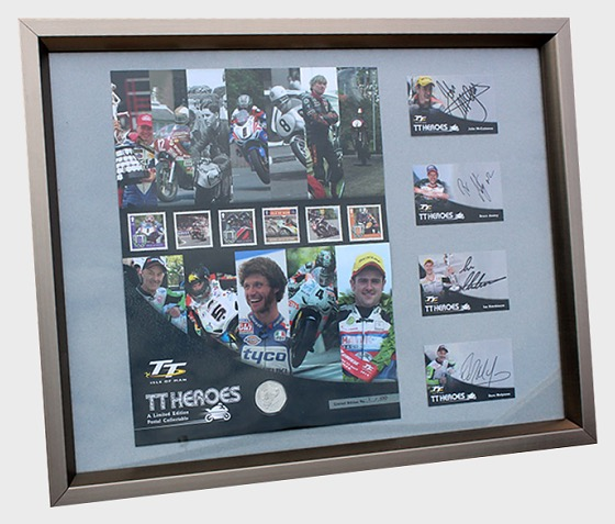 Isle of Man TT Legends Limited Edition Signed Print - Commemorative