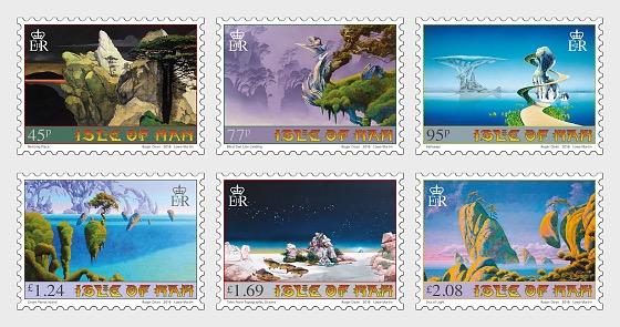 Îles et ponts - L'art de Roger Dean - Séries