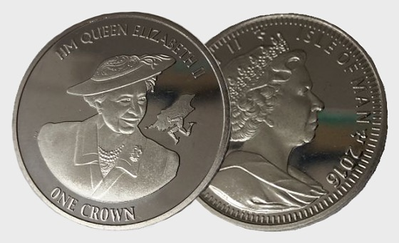 HM Queen's 90th Birthday Crown - Single Coin