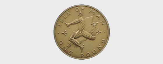 1978 Isle of Man £1 Coin - Single Coin