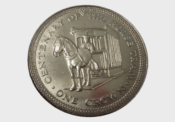 1976 100th Anniversary of the Horse Tram - Single Coin