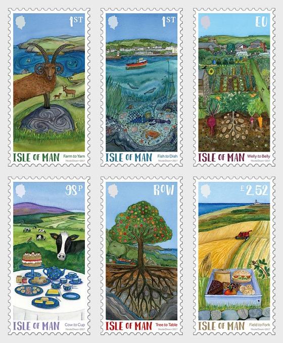 Green Mann Stamps- (Set CTO) - Set CTO