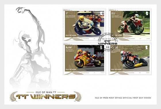 TT Winners - First Day Cover
