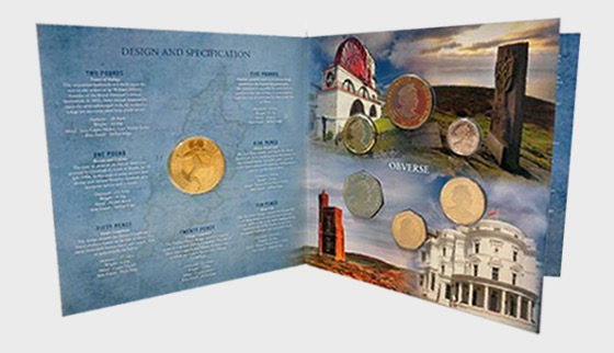 2017 Isle of Man Decimal Coin Set - Coin Year Set