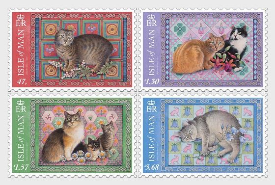 Manx Cats by Lesley Anne Ivory - (Set Mint) - Set