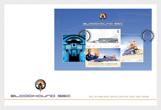 BLOODHOUND SSC - First Day Cover
