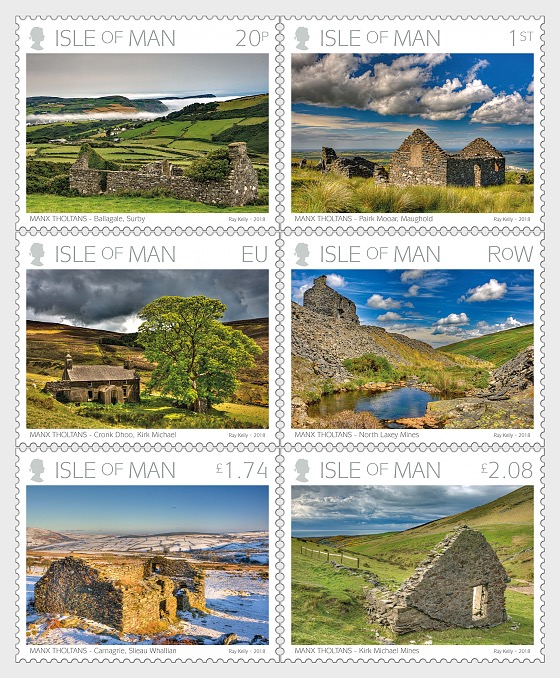 Manx Tholtans by Ray Kelly - (Set Mint) - Set