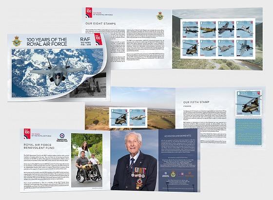 100 Jahre Königliche Luftwaffe - Markenheftchen