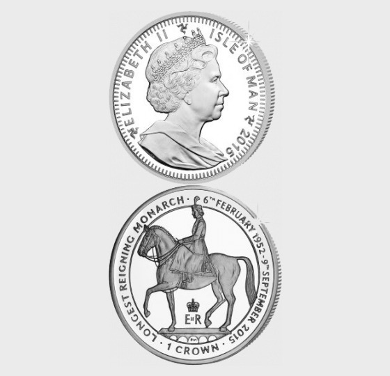Pomp & Circumstance The Reign of HM Queen Elizabeth II Crown - Single Coin
