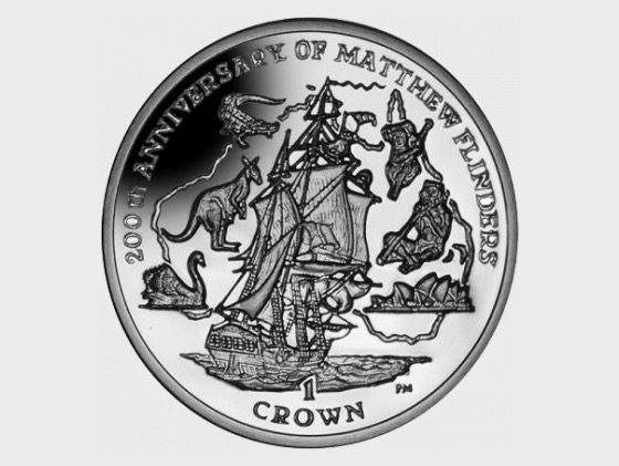 Matthew Flinders Crown - Commemorative