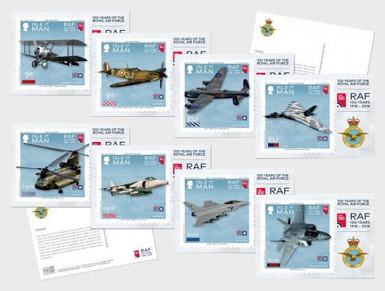 100 Years of the Royal Air Force - Postcard