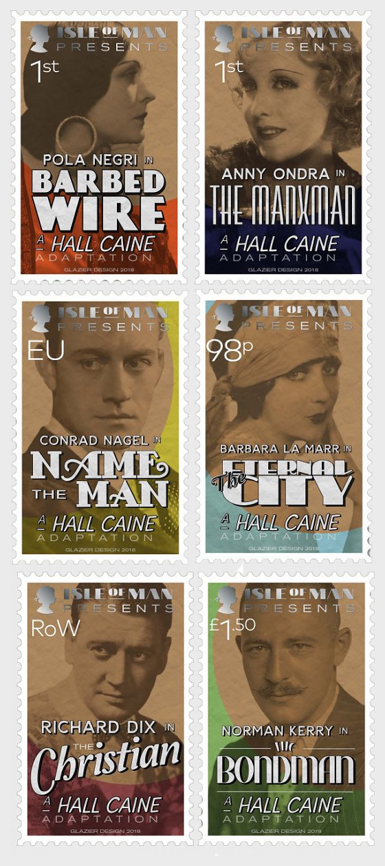 The Film Adaptations of Hall Caine - (Set Mint) - Set