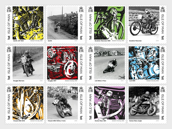 Great British Motorcycle - A Celebration of Innovation - (Set Mint) - Set