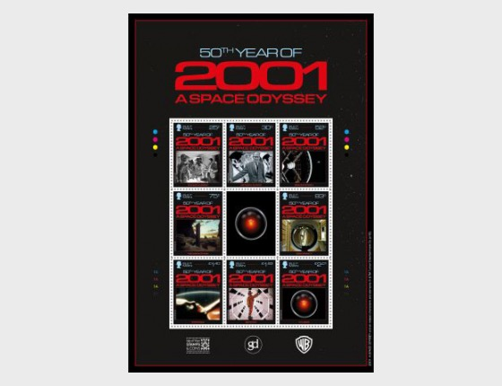 2001 - A Space Odyssey - (Commemorative Sheetlet) - Collectibles