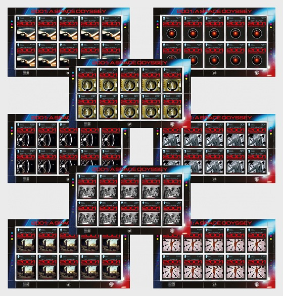 2001 - A Space Odyssey - Sheetlets