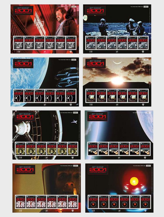 2001 - A Space Odyssey - (Pictorial Sheet Set) - Collectibles