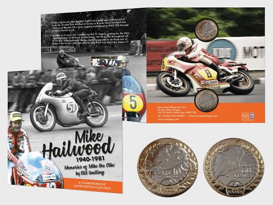 Mike Hailwood Commemorative Limited Edition Coin Pack - Commemorative