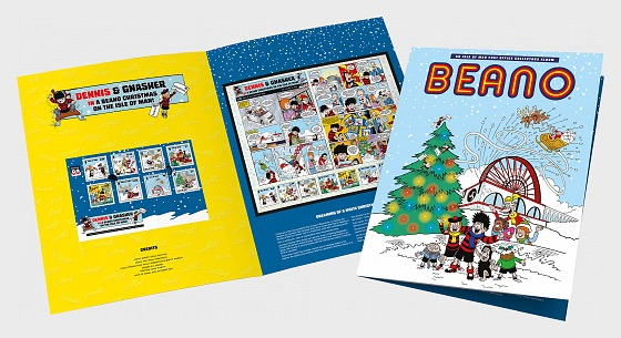 A Beano Christmas on the Isle of Man 2018 - (A Beano Christmas Collectors Album) - Special Folder