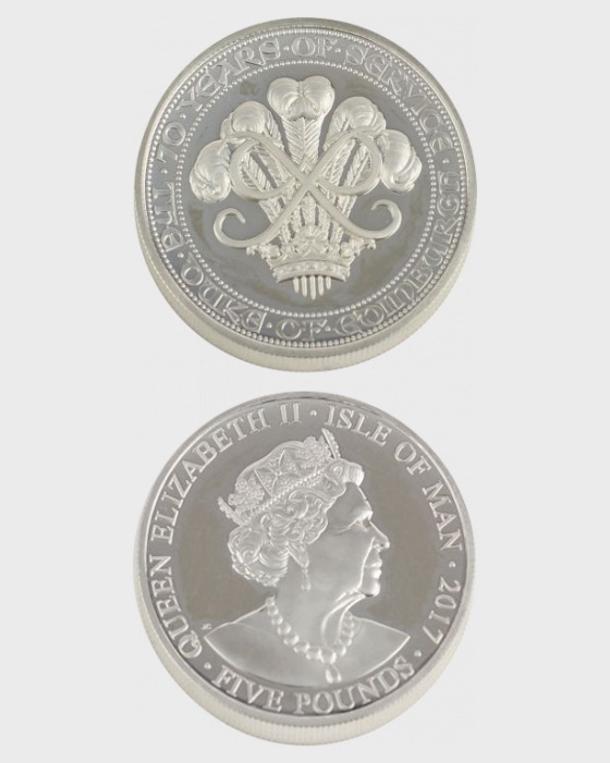 Krone 70 Jahre Herzog von Edinburgh - Gedenk