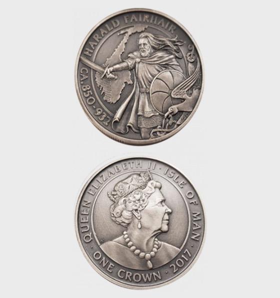 Fairhair One Crown 2017 - Single Coin