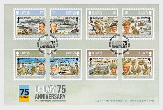 D-Day 75 - First Day Cover