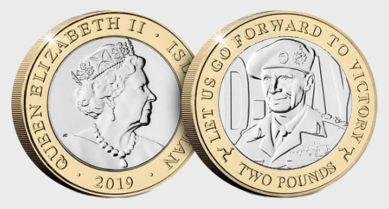 D-Day Commemorative £2 Coin - Montogomery - Single Coin