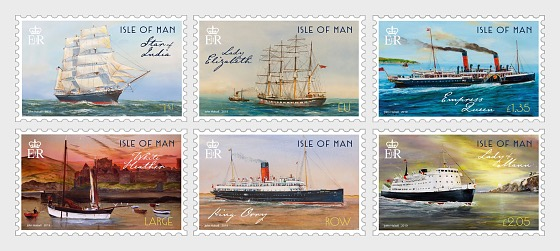 Maritime History II by John Halsall - Set Mint - Set